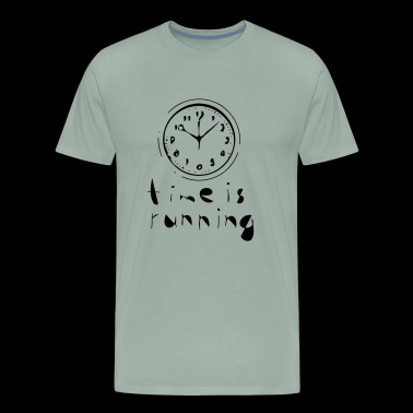 time is running - choose your own color! - Men's Premium T-Shirt