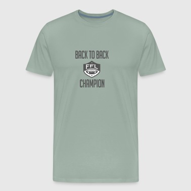 Back To Back FFL Champ - Men's Premium T-Shirt