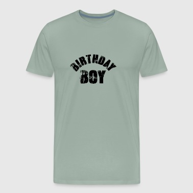 Birthday Boy (Young Boy's Birthday Celebration) - Men's Premium T-Shirt