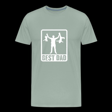 Funny Best Dad Gift - Men's Premium T-Shirt