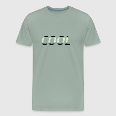 Cool in Agender colors gift idea - Men's Premium T-Shirt