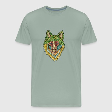 Forest Wolf - Men's Premium T-Shirt