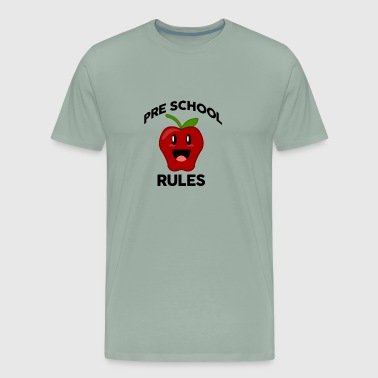 Pre School Rules - Men's Premium T-Shirt