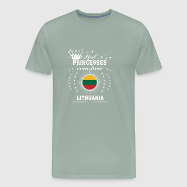 queen love princesses LITHUANIA - Men's Premium T-Shirt