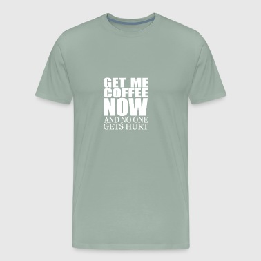 Coffee gift for Coffee Addicts - Men's Premium T-Shirt