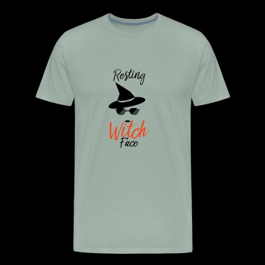 witch 2. for person who love witch design - Men's Premium T-Shirt