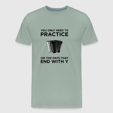 Practice Accordion T-Shirt - Men's Premium T-Shirt