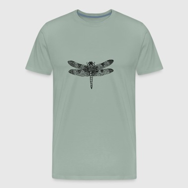 Dragonfly insect fly - Men's Premium T-Shirt
