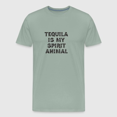 Tequila Is My Spirit Animal - Men's Premium T-Shirt