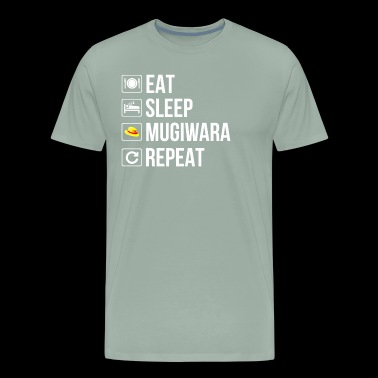 eat sleep mugiwara repeat - Men's Premium T-Shirt