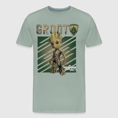 Marvel GROOT Guardians of Galaxy Vol 2 1 - Men's Premium T-Shirt