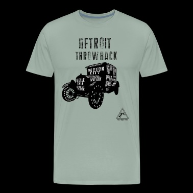 DETROIT THROWBACK - Men's Premium T-Shirt