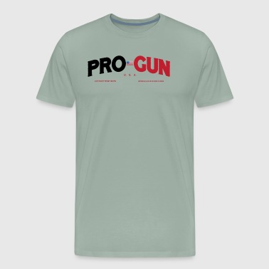 PRO GUN Liberty Guns Beer Trump t-shirt - Men's Premium T-Shirt