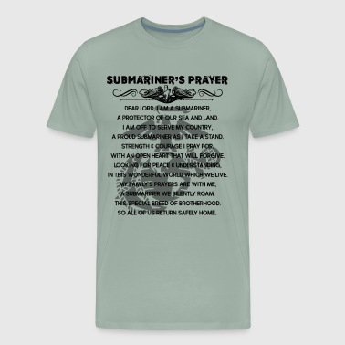 Submariner's Prayer Shirt - Men's Premium T-Shirt