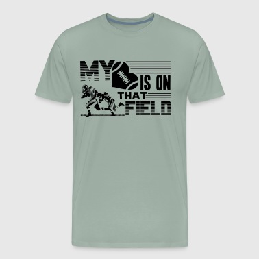 Football My Heart Is On That Field Shirt - Men's Premium T-Shirt