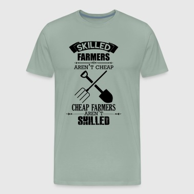 Love Skilled Farmer Shirt - Men's Premium T-Shirt