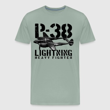 P-38 Lightning - Men's Premium T-Shirt