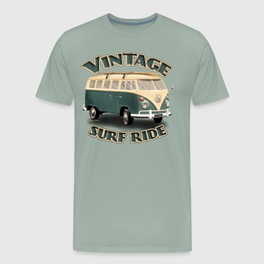 Vintage Surf Ride Bus - Men's Premium T-Shirt