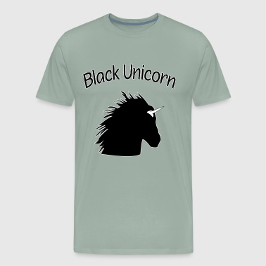 Black Unicorn for Black Queens and Feminists - Men's Premium T-Shirt