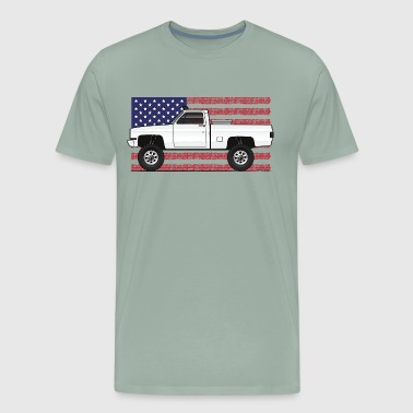 4x4Usa truck - Men's Premium T-Shirt