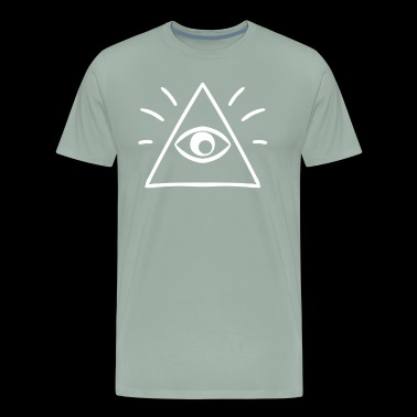 The All Seeing Eye Sees You - Men's Premium T-Shirt