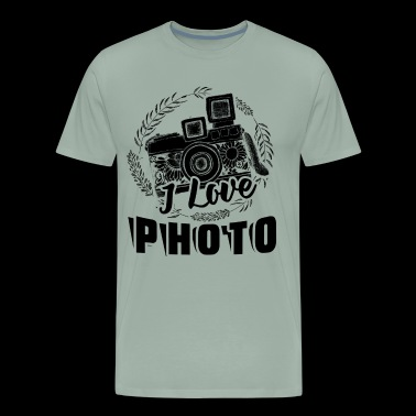 Photographer Love Photo Shirt - Men's Premium T-Shirt
