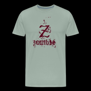 Z is for Zombie! - Men's Premium T-Shirt