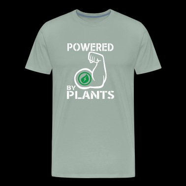 Strong Vegan Powered By Plants for Bodybuilders - Men's Premium T-Shirt