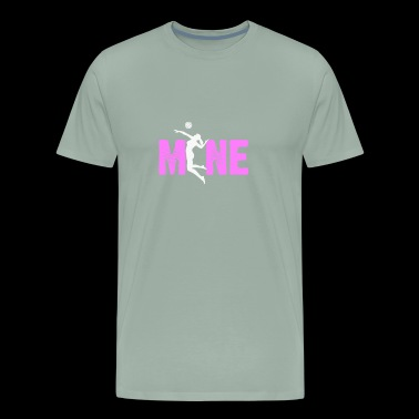 volleyball love Mine gift - Men's Premium T-Shirt