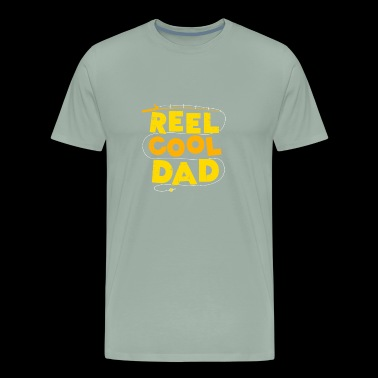 Reel Cool Dad fishing Gift - Men's Premium T-Shirt