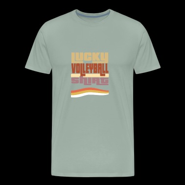Lucky valleyball tshirt - Men's Premium T-Shirt