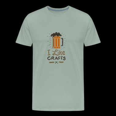 Craft Beer Love Brewery Gift - Men's Premium T-Shirt