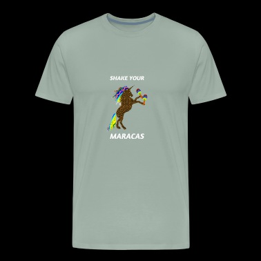 Shake Your Maracas - Cinco De Mayo Unicorn - Men's Premium T-Shirt
