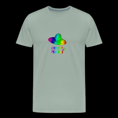 Gay Flag Celebration shirt Cinco de Mayo - Men's Premium T-Shirt