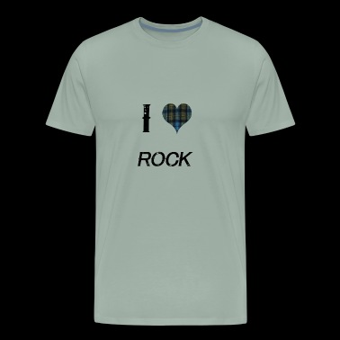 I Love Rock for the Proud - Men's Premium T-Shirt