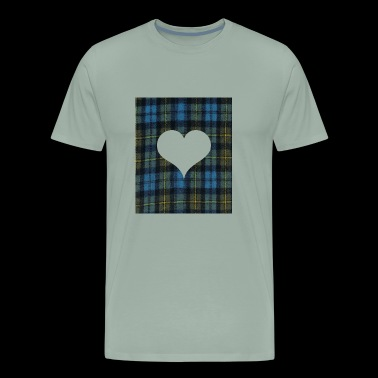 Heart for Tatar Day am and proud scots - Men's Premium T-Shirt