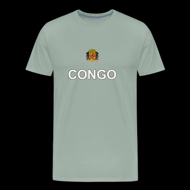 republic of congo sport crest design - Men's Premium T-Shirt