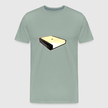 posterized 8 track design - Men's Premium T-Shirt
