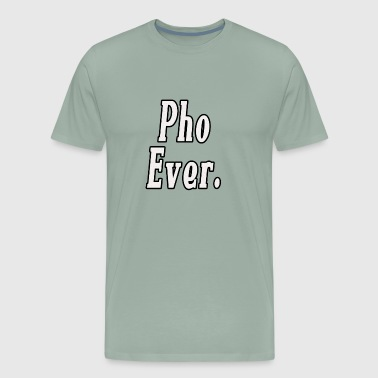 pho lover funny design - Men's Premium T-Shirt