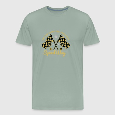 Are you ready for this event Speedway - Men's Premium T-Shirt