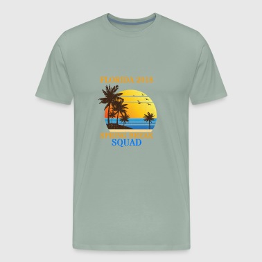Spring Break Squad Party Crew Miami Florida 2018 - Men's Premium T-Shirt