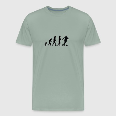 Soccer evolution, #Soccer - Men's Premium T-Shirt