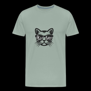 Cat Kitten Kitty Animal Meow Gift Idea Purr Paw - Men's Premium T-Shirt