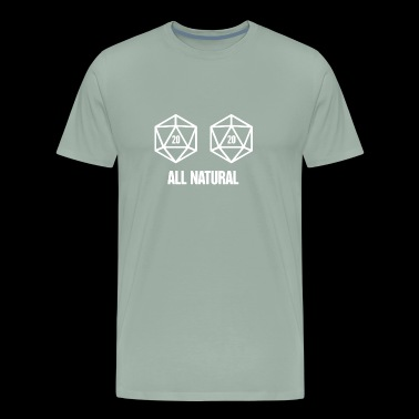 d20 Roleplaying Game | Board Gaming - Men's Premium T-Shirt