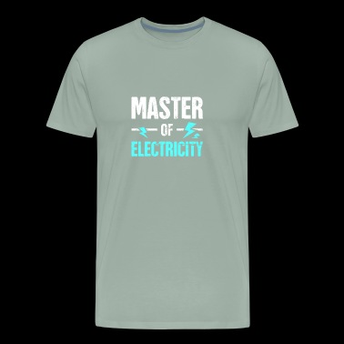 Master of Electricity | Awesome Electrician - Men's Premium T-Shirt