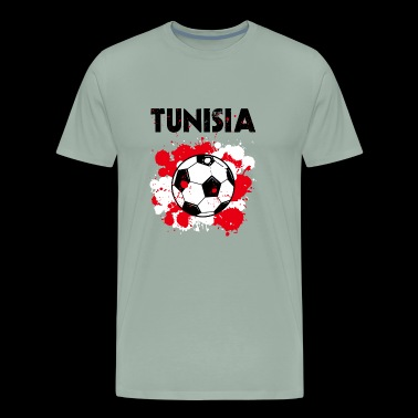 Tunisia Soccer Shirt Fan Football Gift Funny Cool - Men's Premium T-Shirt