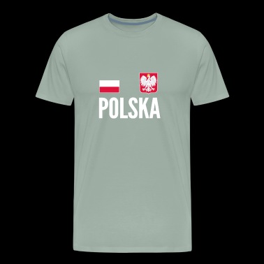 Poland Soccer Jersey World Football Cup Design - Men's Premium T-Shirt