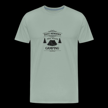 Camping Best Memories Are Made - Men's Premium T-Shirt