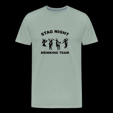 Stag Night Party Ideas and Bachelor Party Outfits - Men's Premium T-Shirt