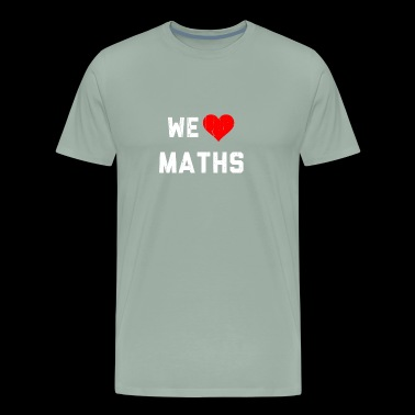 We Heart Maths - Hearbeat - Men's Premium T-Shirt